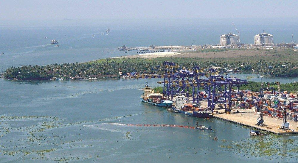 kochin port - ports in India