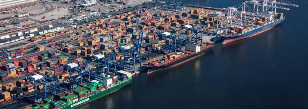 The largest ports in Nort America - Port of Baltimore