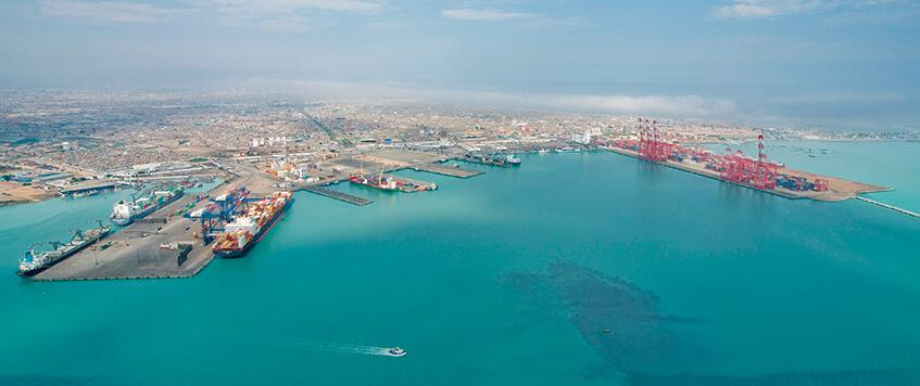 The largest seaports in South America - Callao port