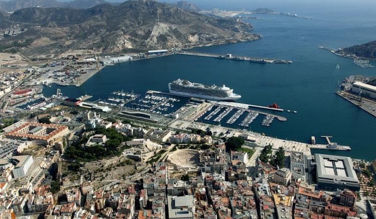 Cartagena - port