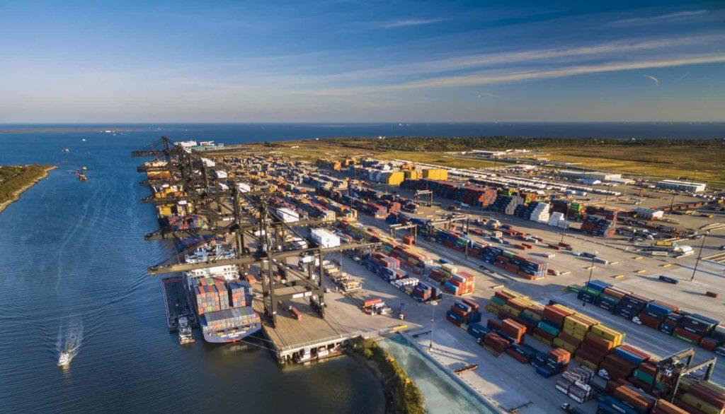 The largest ports in Nort America -Port of Houston